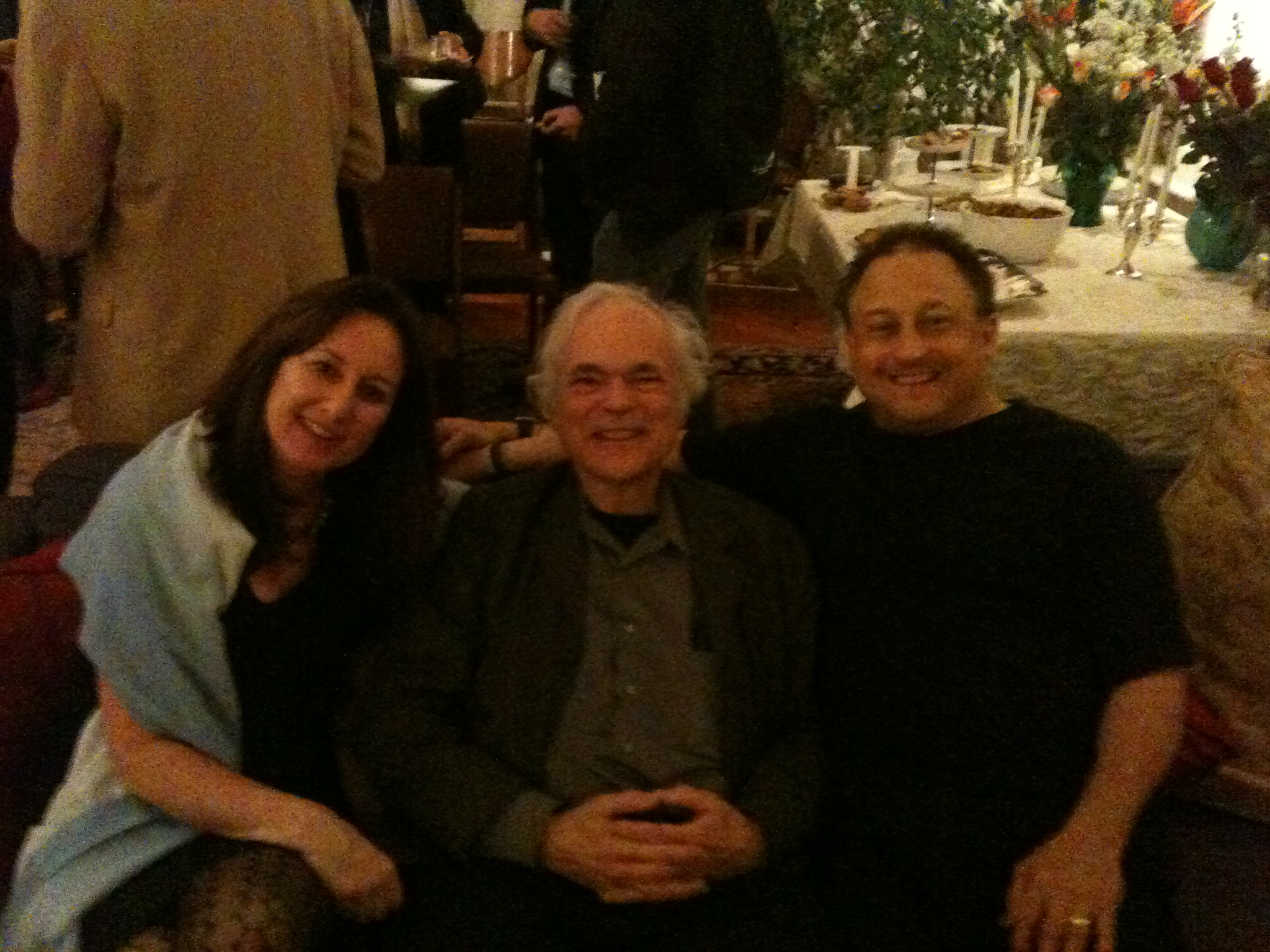 Mary Ann, Gene Bertoncini and I at a loft concert.JPG