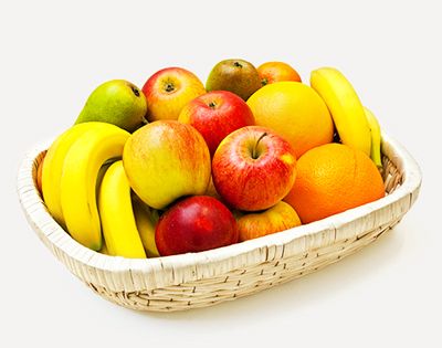 Bio-Früchtekorb