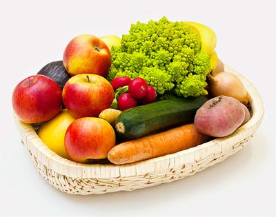 Bio-Gemüsekorb