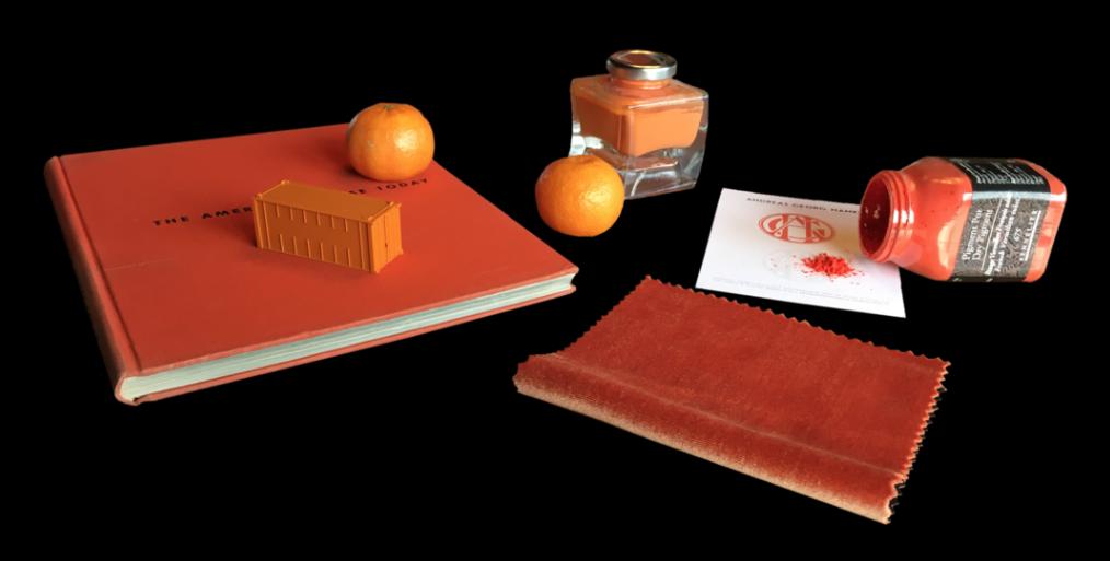 Color of the month - December - Orange