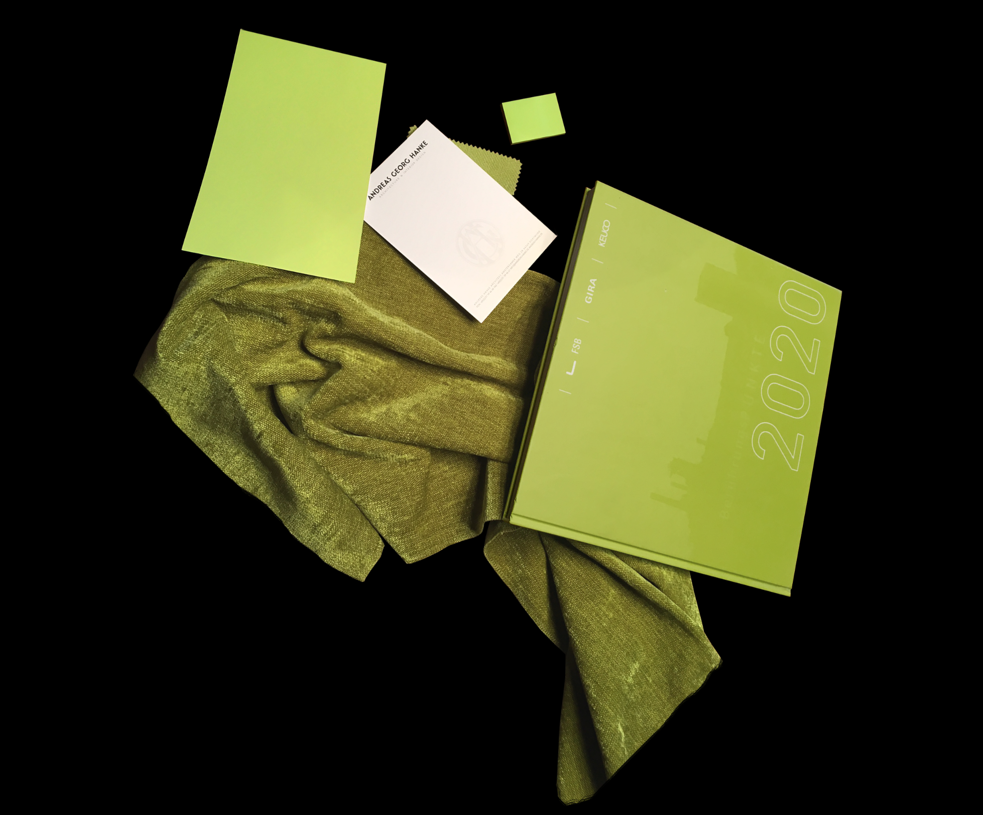 Color of the month - January - Greenery