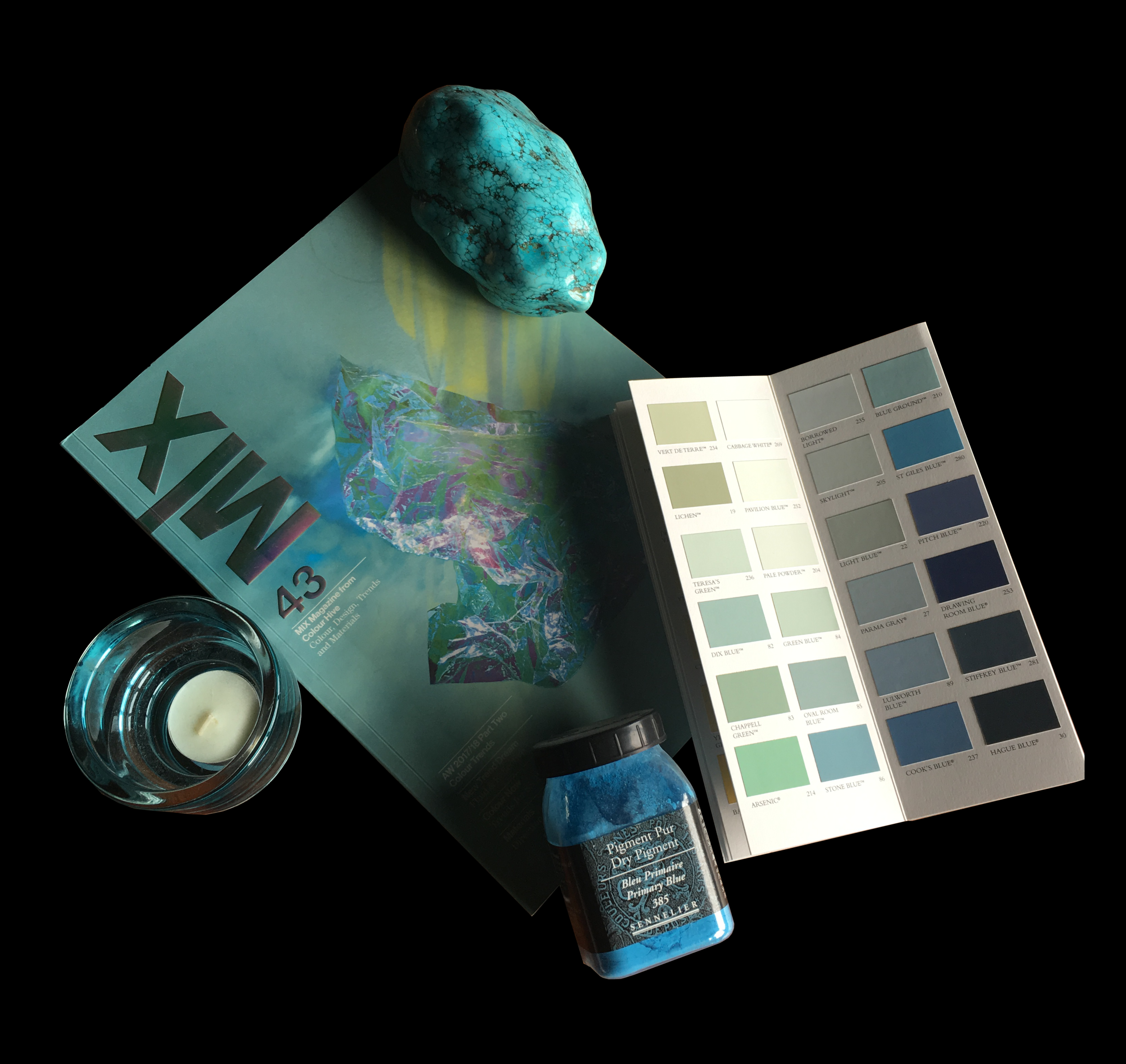 Color of the month - June - blue impressions