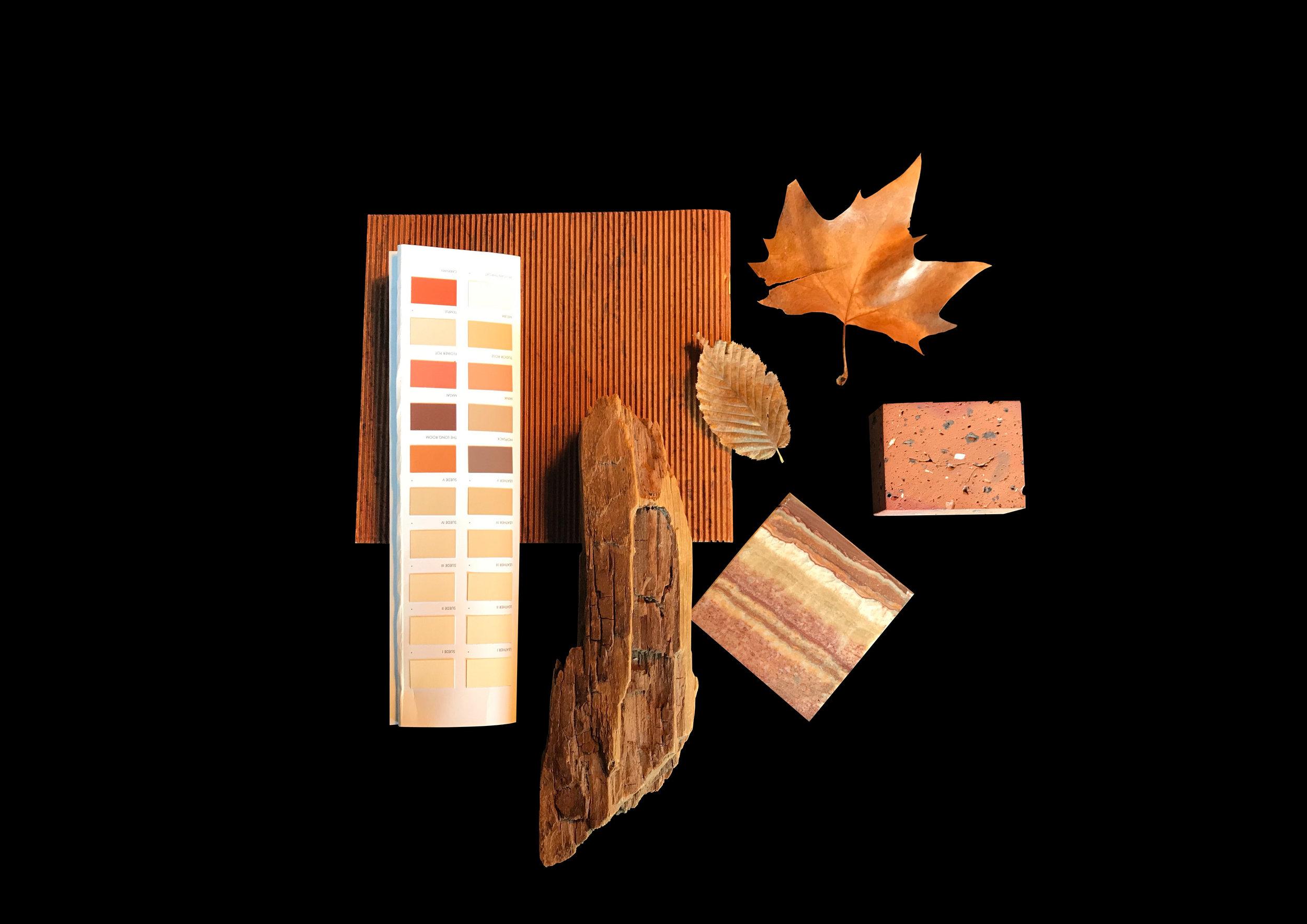 Color of the month - November - Herbstorange