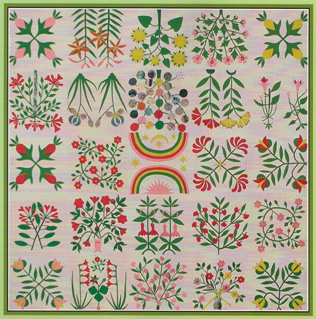The Shenandoah Valley Botanical Album Quilt of 1858