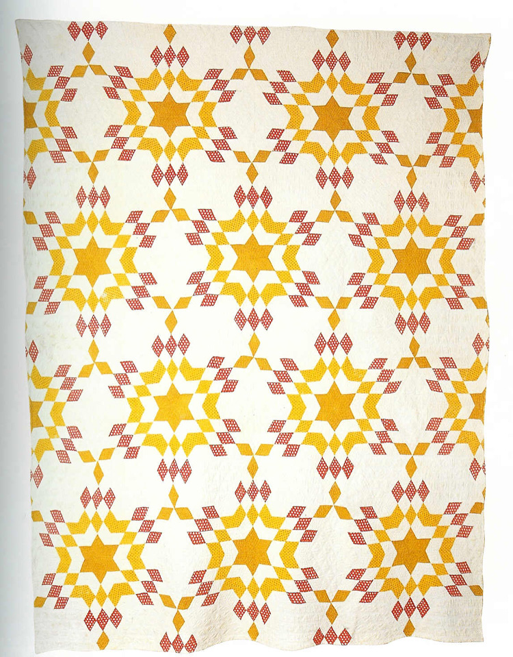 91 005 001              6 Pointed Star- Blazing Star Quilt.jpg