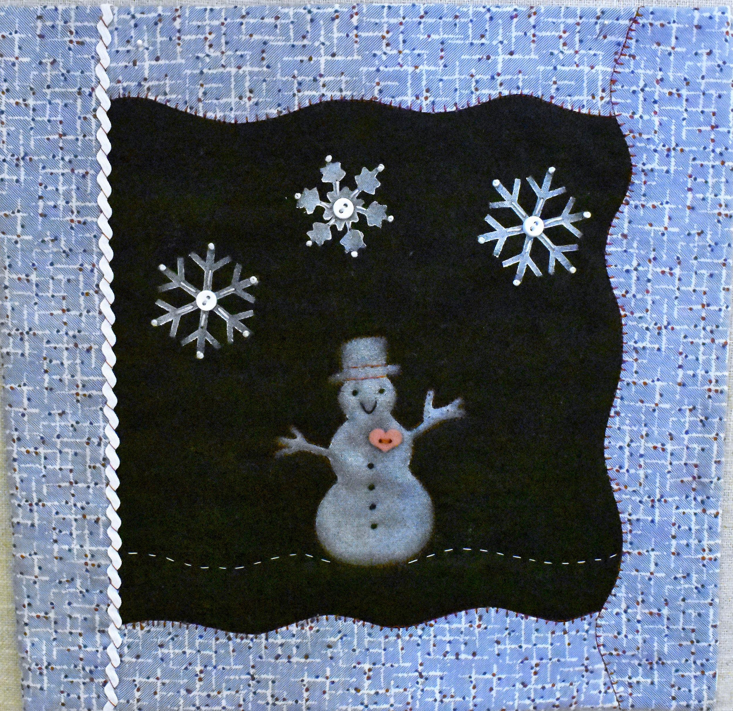 Winter Wonderland Mini Quilt