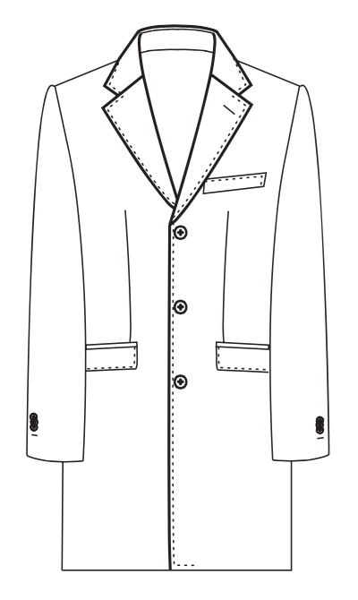 AB COAT 1 (Notch Lapel)