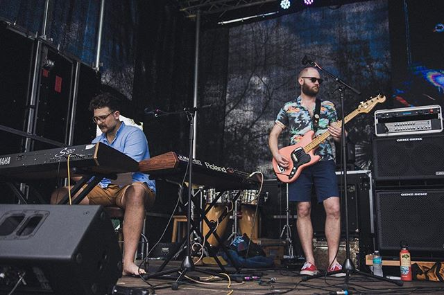 @tooko_salamanca and @scorttttttttt at The Heartwood Festival last month. Photo capture by @matthewkfowler  #gainesville #gainesvillemusic #diymusic #diymusician #indiemusic