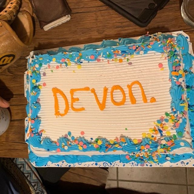 Custom bachelor party cake for @devon_and_the_distants.