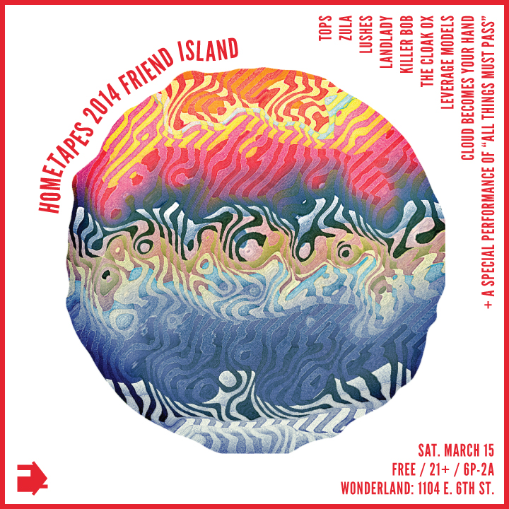 Friend Island 2014 Flyer