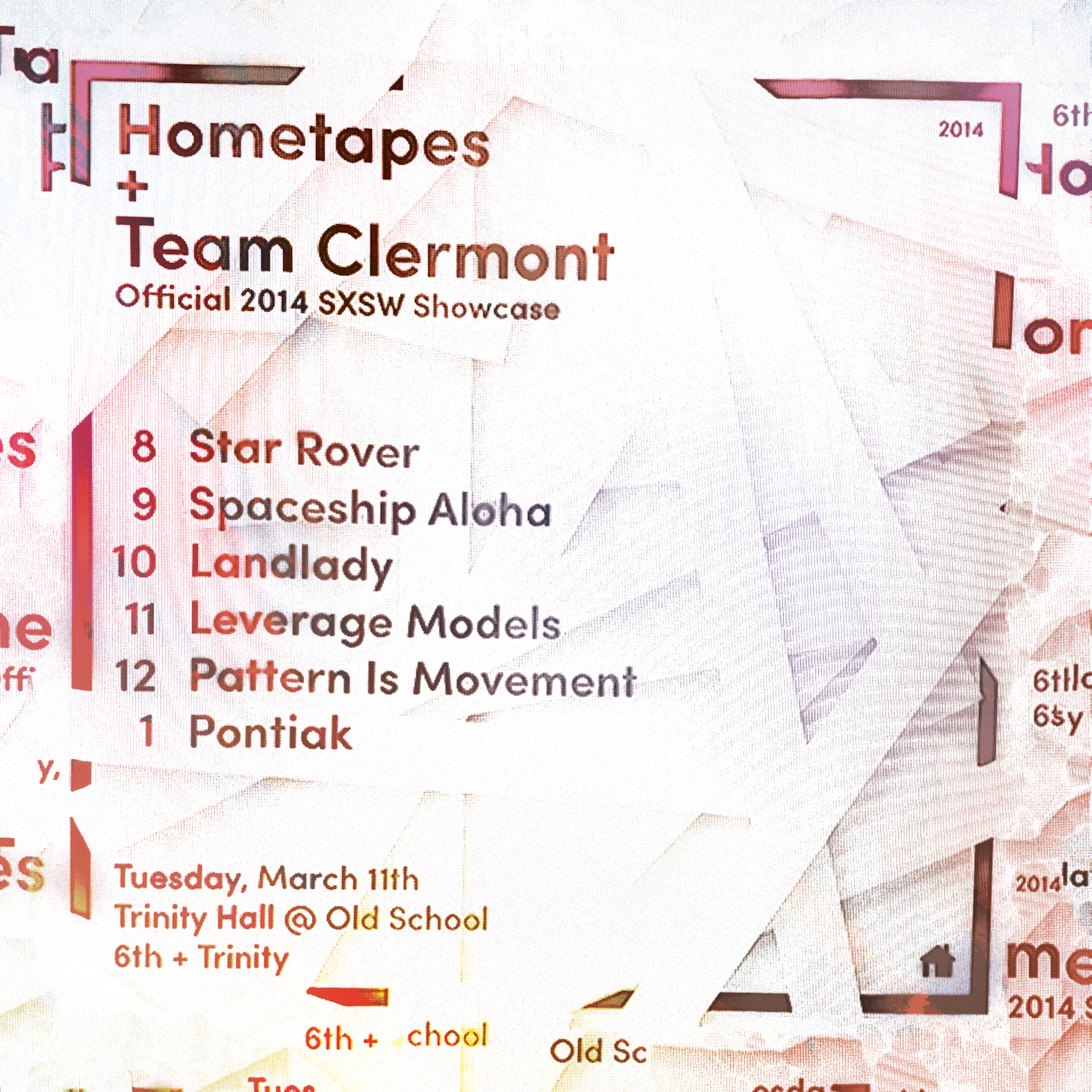 Hometapes + Team Clermont Showcase Flyer