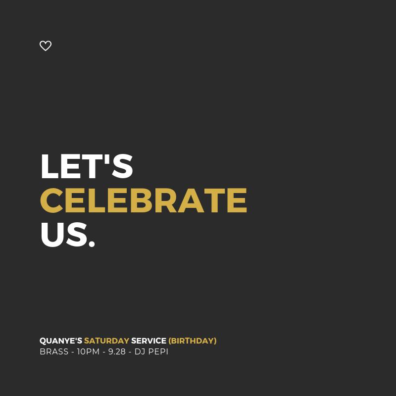 Let's Celebrate Us