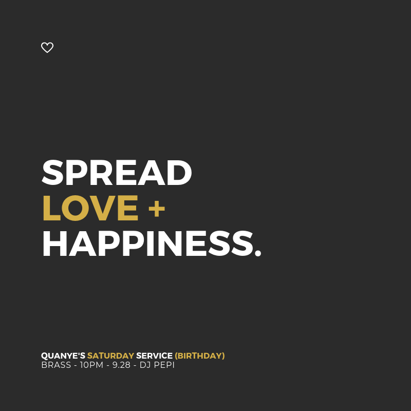 Spread Love and Happiness