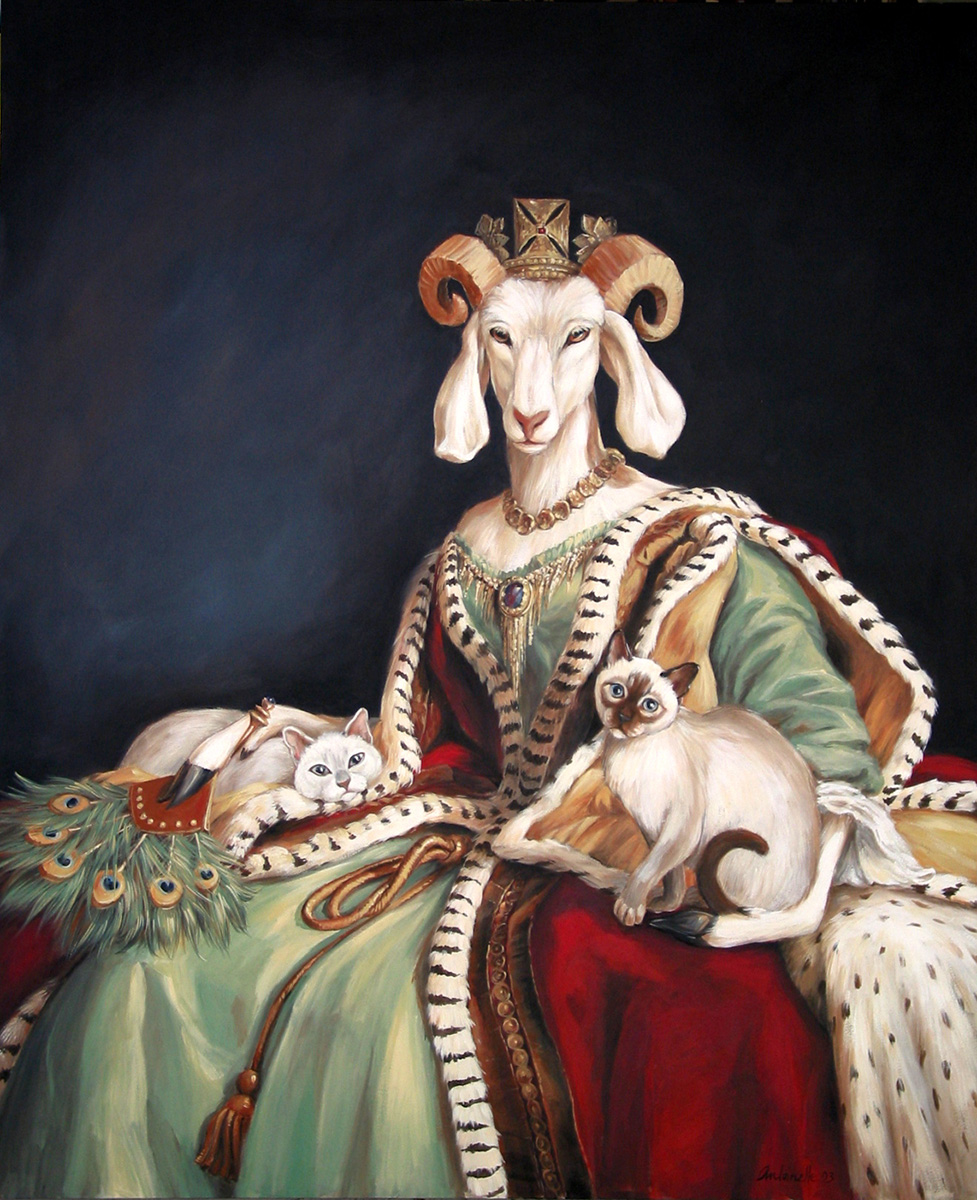 Queen Meh-he-gret of Grassland