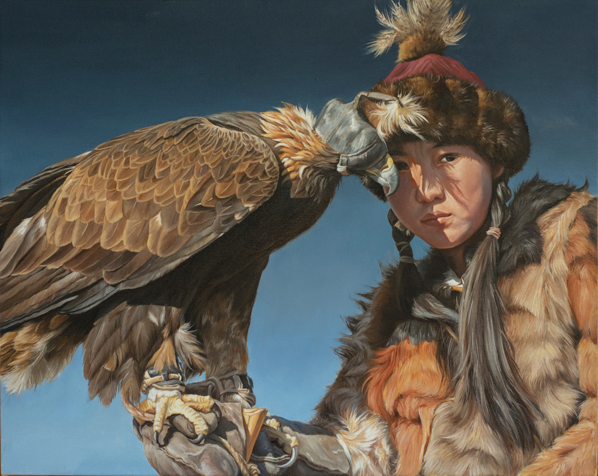 Little Eagle Huntress, right