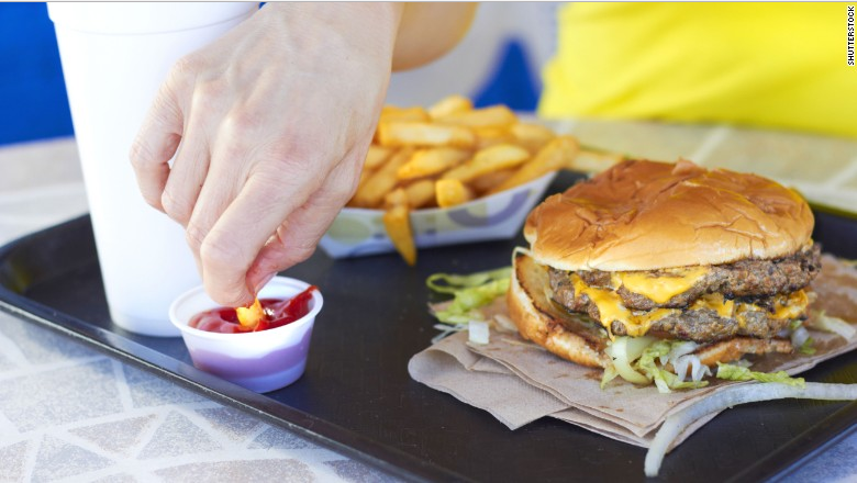 A study by the Silent Spring Institute  found fluorinated chemicals in one-third of the fast food packaging tested. Previous studies have shown PFASs can migrate from food packaging into the food you eat. 38% of sandwich/burger contact paper contained fluorine.