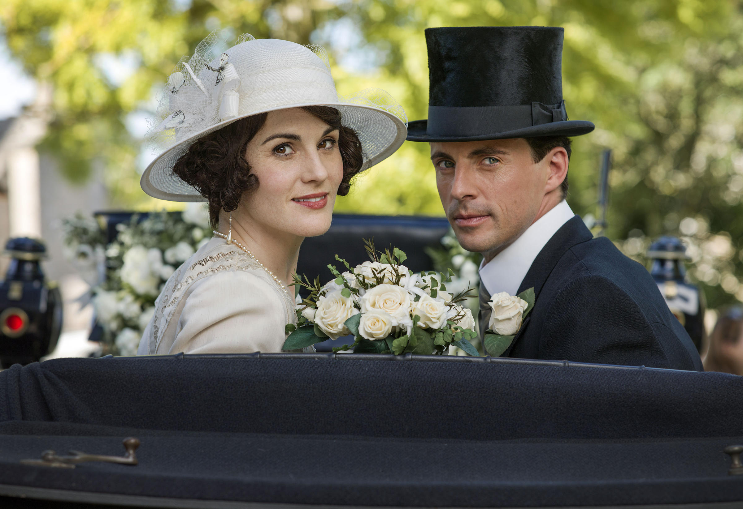 Downton Abbey, The Final SeasonMASTERPIECE on PBSShown from left to right: Michelle Dockery as Lady Mary and Matthew Goode as Henry Talbot(C) Nick Briggs/Carnival Film & Television Limited 2015 for MASTERPIECE