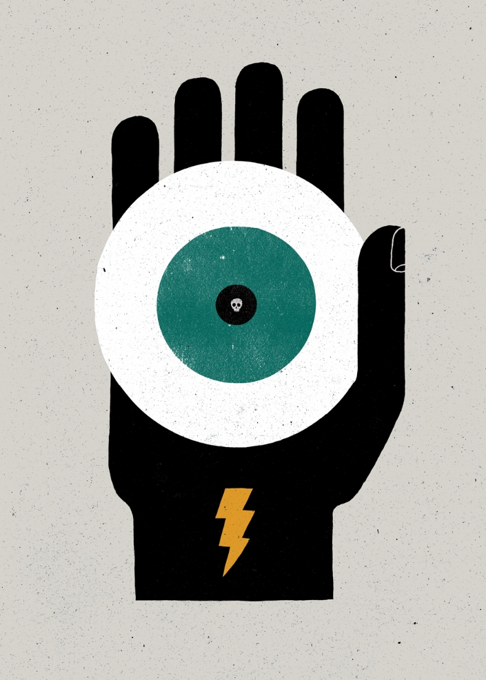 JETTATURA: The casting of an evil eye.