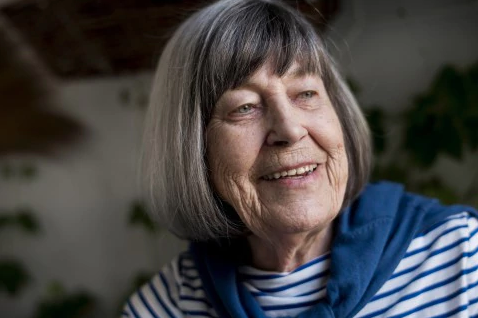 Author Margareta Magnusson. Photographer: Alexander Mahmoud (Alexander Mahmoud)
