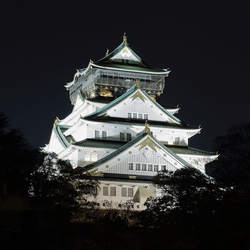 Osaka_Castle_at_Night,_November_2016.jpg