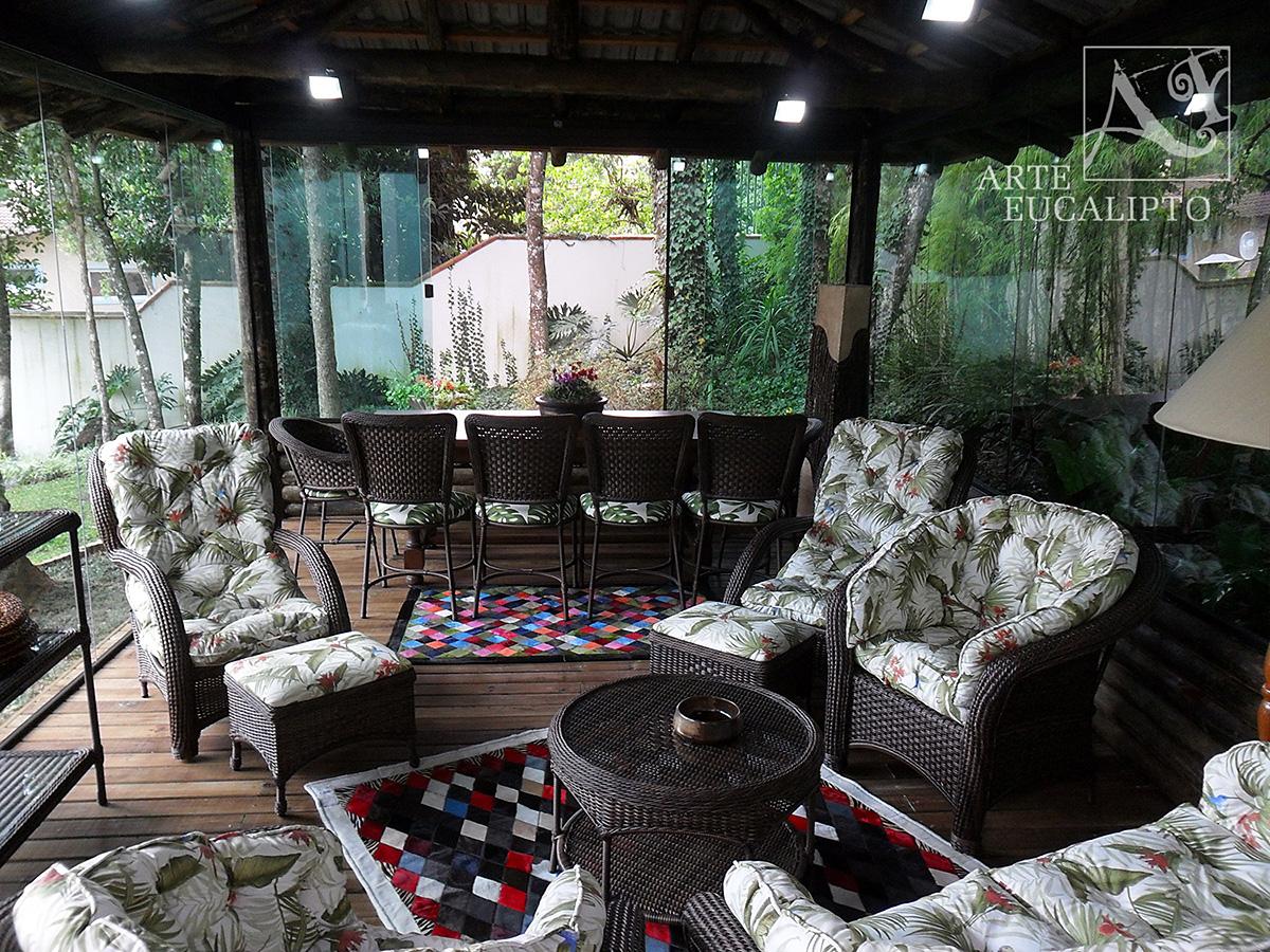 Interior casa de chá