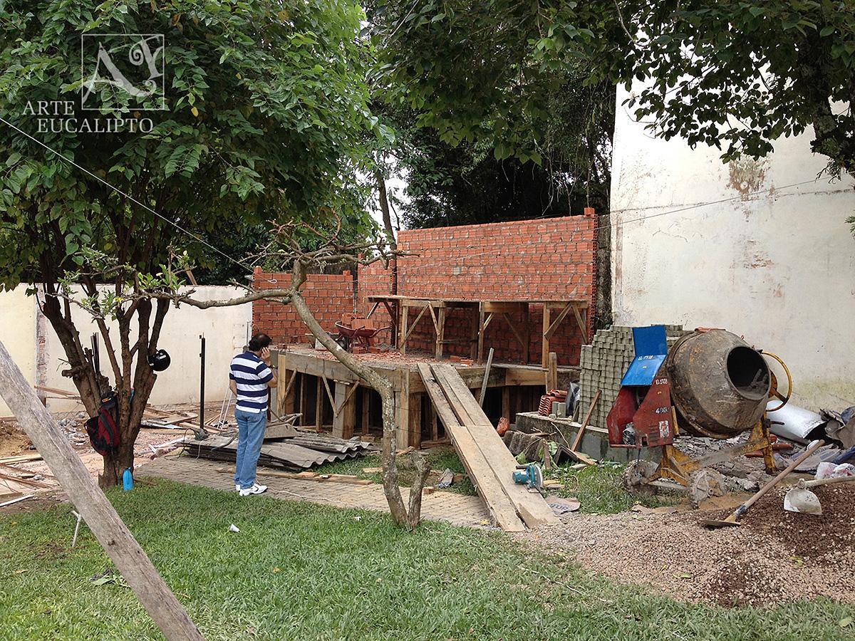 Início espaço gourmet Barigui , Curitiba - Pr