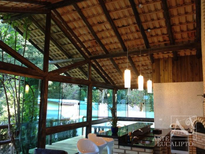 Interior espaço gourmet Barigui