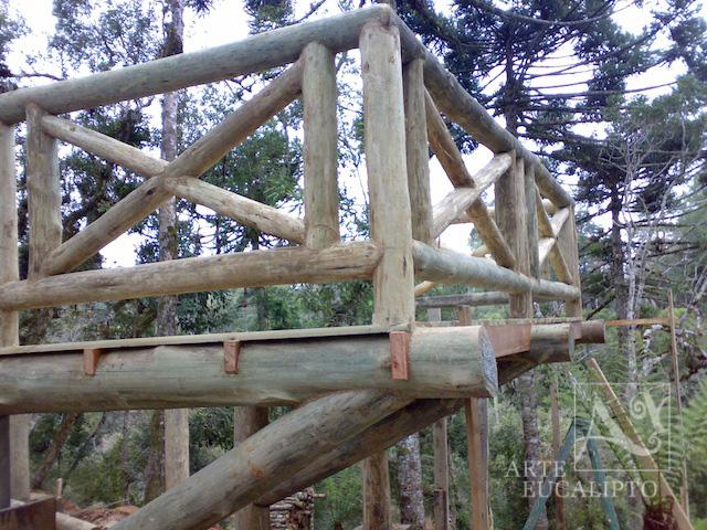 Deck palafita chalé ,  Vossoroca  - Pr
