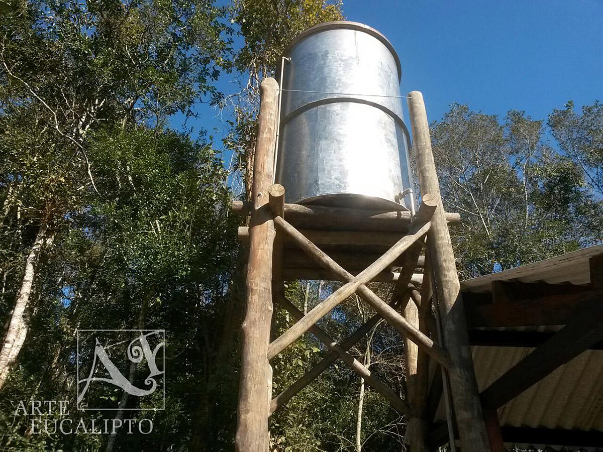 Torre caixa d'agua , Eucalipto Citriodora Autoclavado , Colombo - Pr