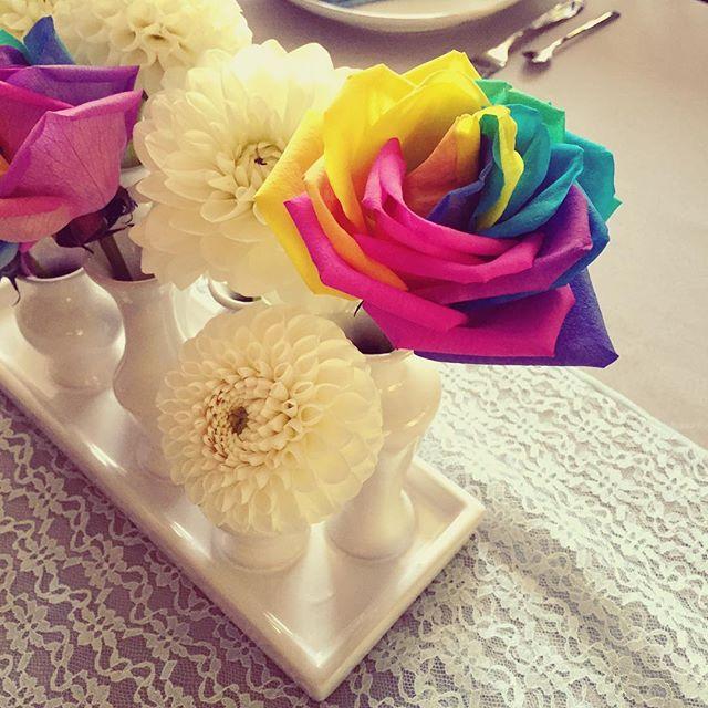 Rainbow roses! 🌹🌈
