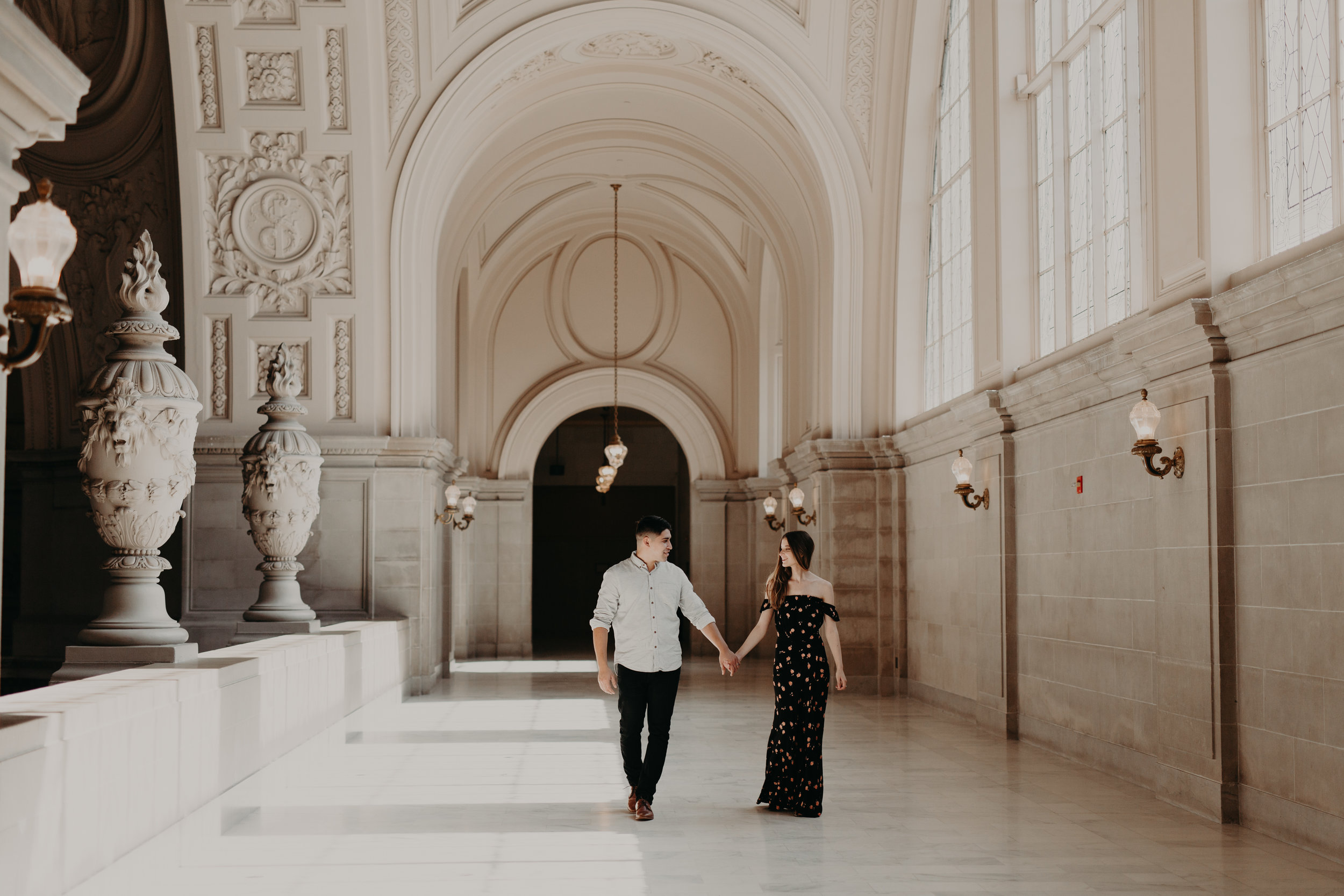 Jana + Eli - San Francisco City Hall Anniversary