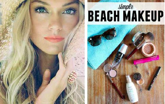 #beachmakeup