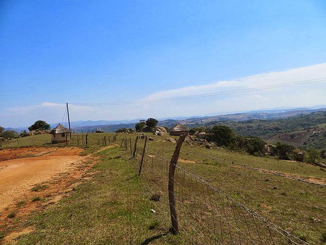 Rural Swaziland, where Sibongile lives.
