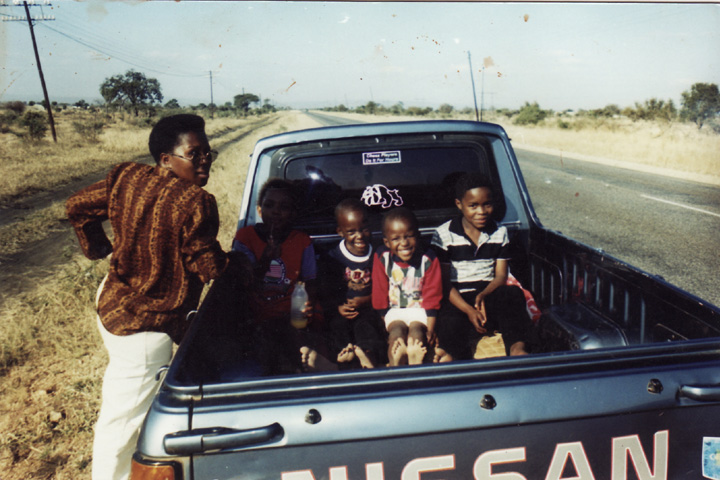 Sibongile with her children