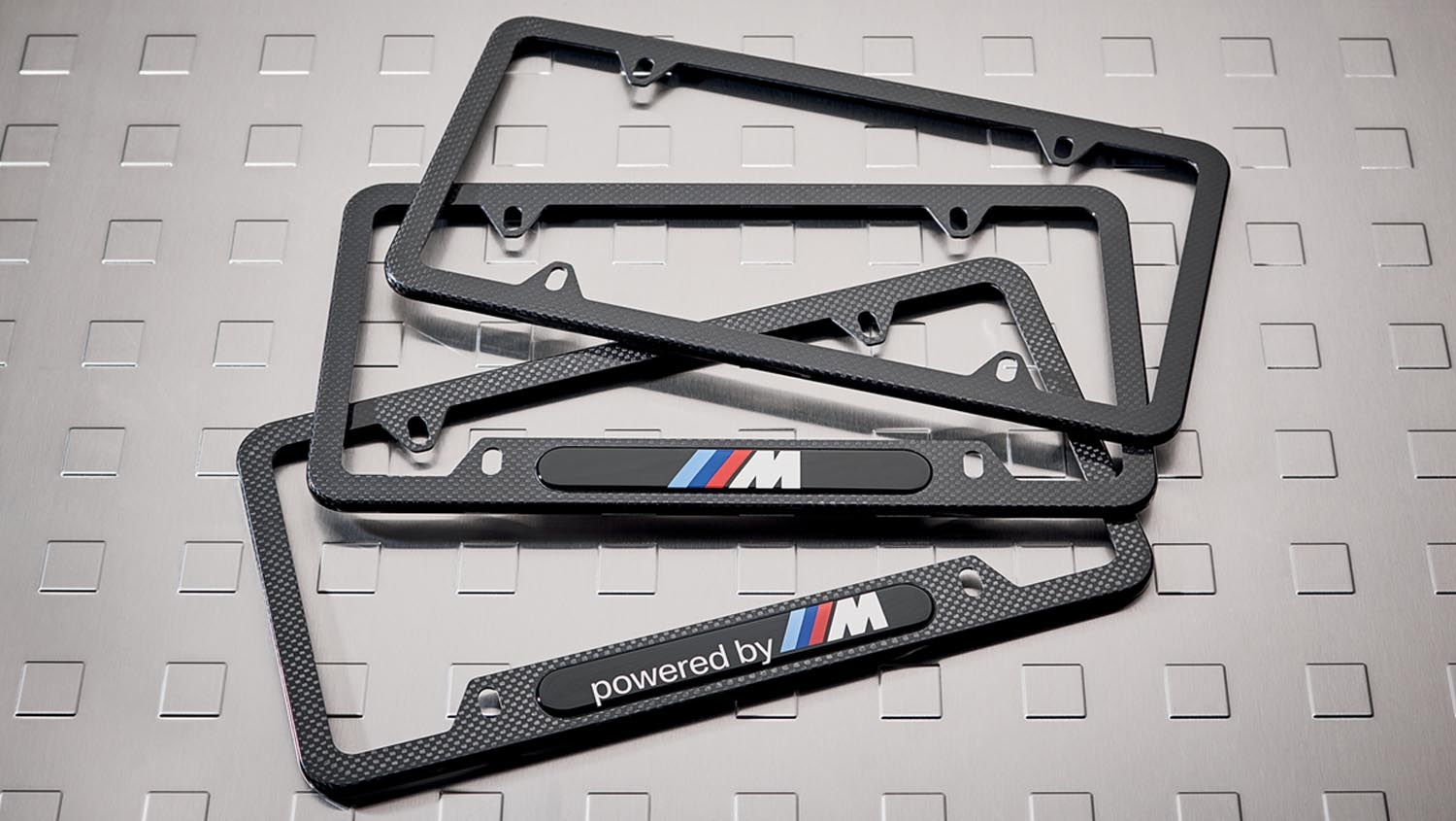 Camisasca Automotive BMW M Performance License Plate Frame