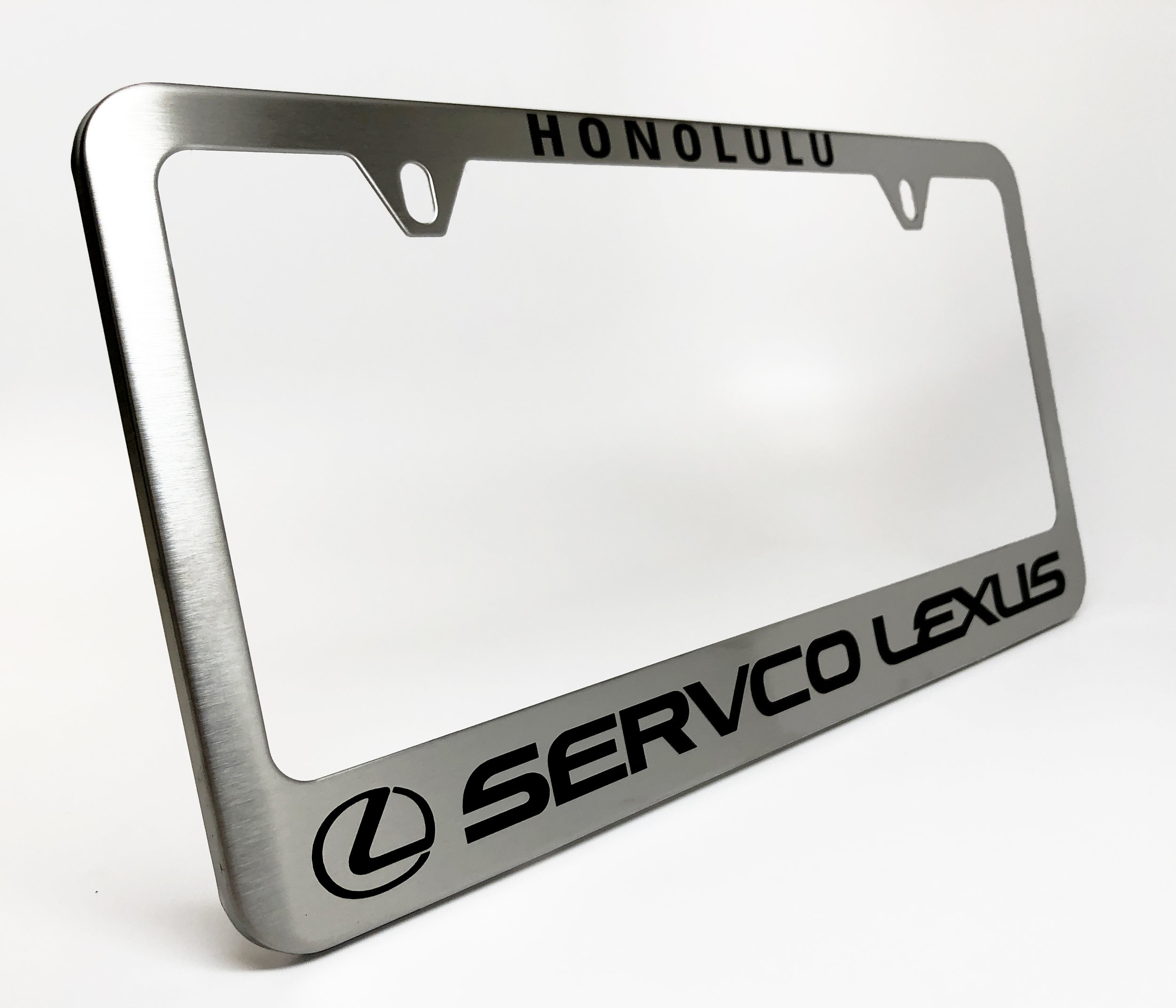 Camisasca Automotive Servco Lexus Honolulu License Plate Frame