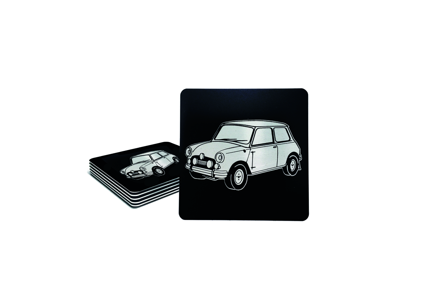 Custom Classic Mini Drink Coaster Set
