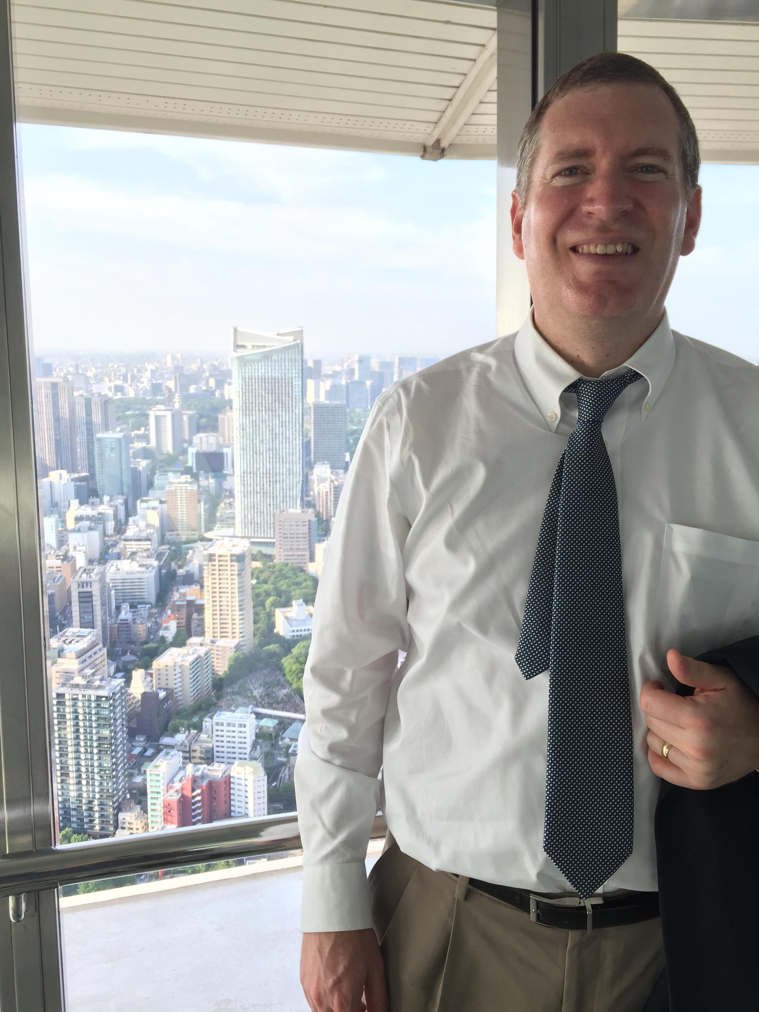 John in Tokyo Tower 2.JPG