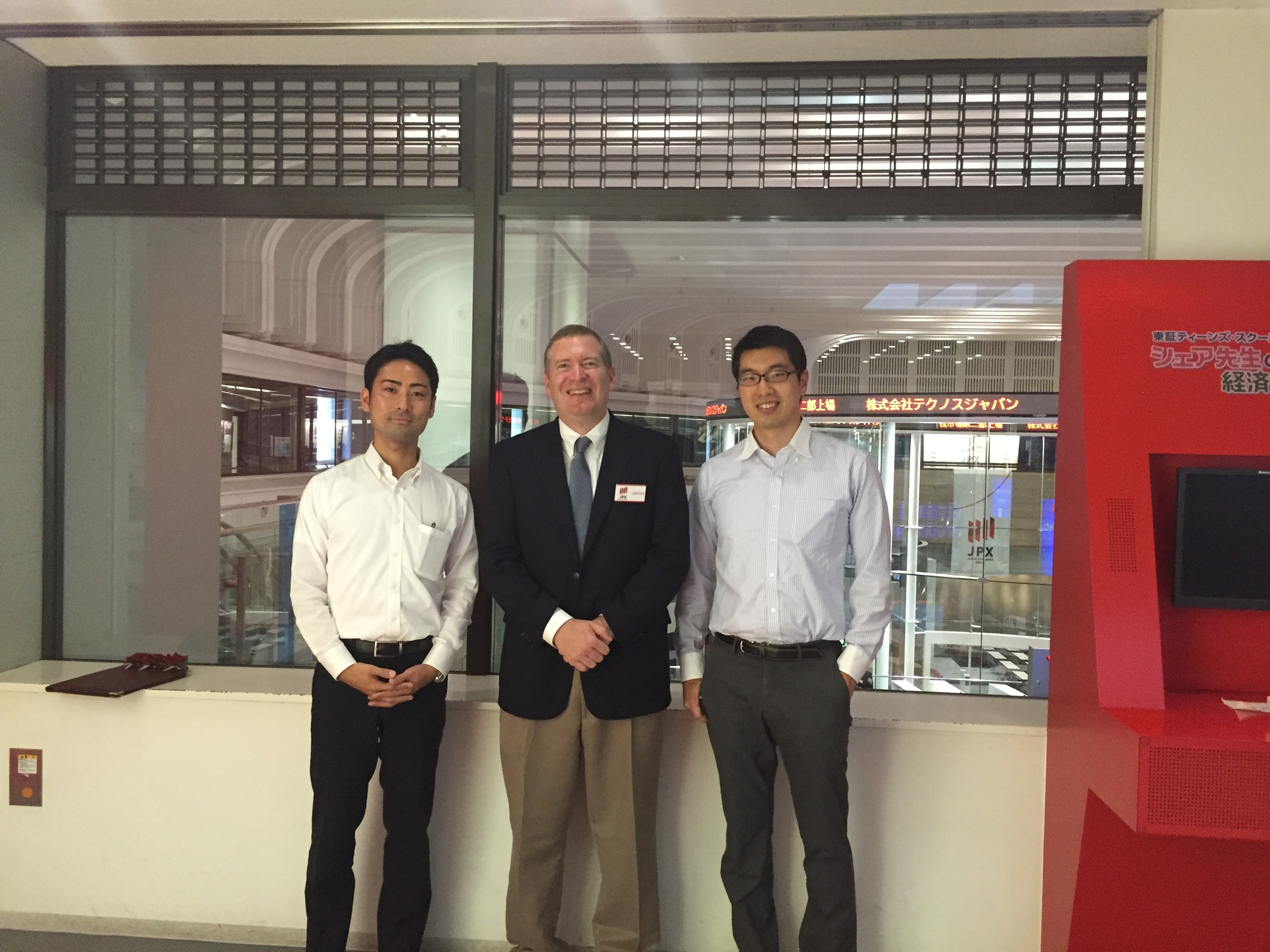 TSE - John with Shun Takato (left) and Goki Sakaguchi (right).JPG