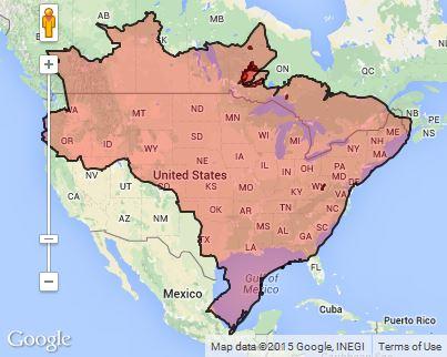 Country size comparison: Brazil v. USA