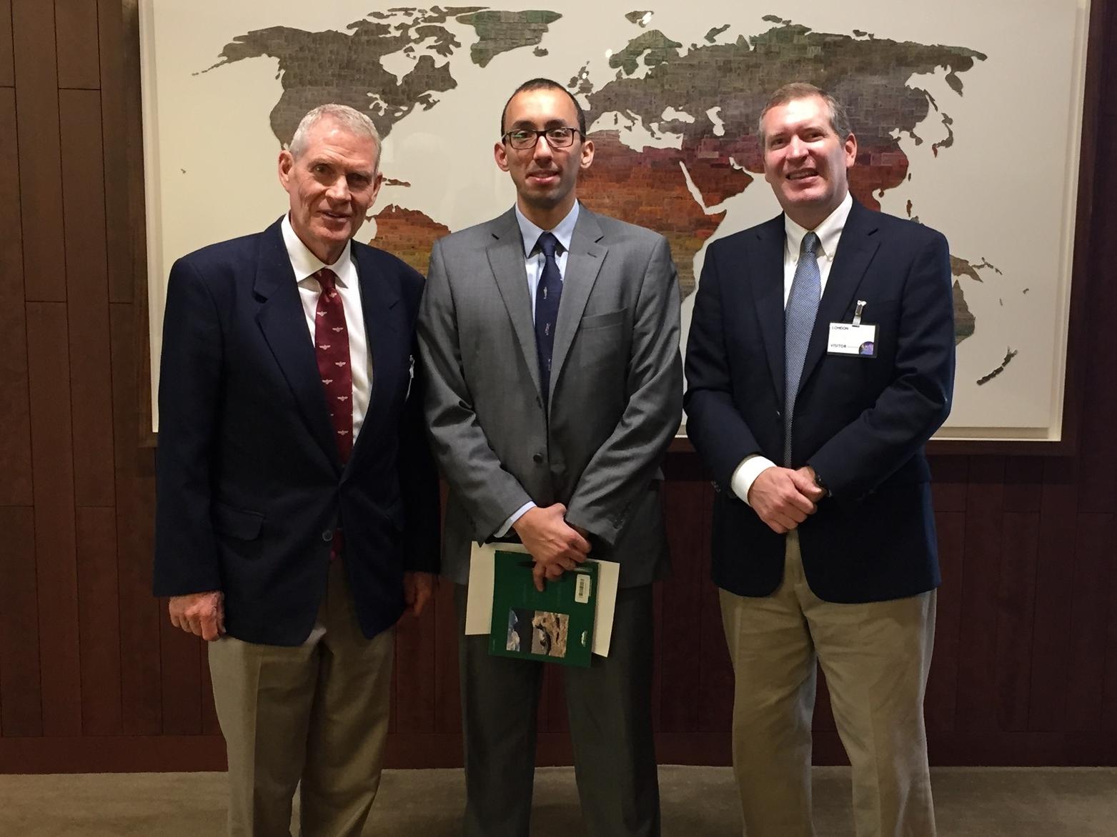 Larry Lunt, Karim Chedid, and John Lunt