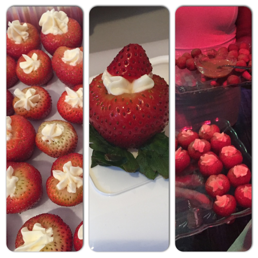 The Sumptuous Bites Cheesecake-Filled Strawberries