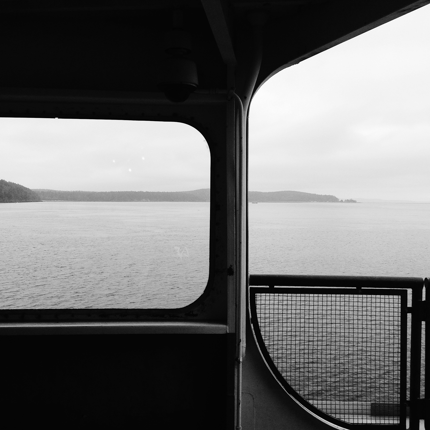 From the ferry in the morning (taken with my iPhone 5)
