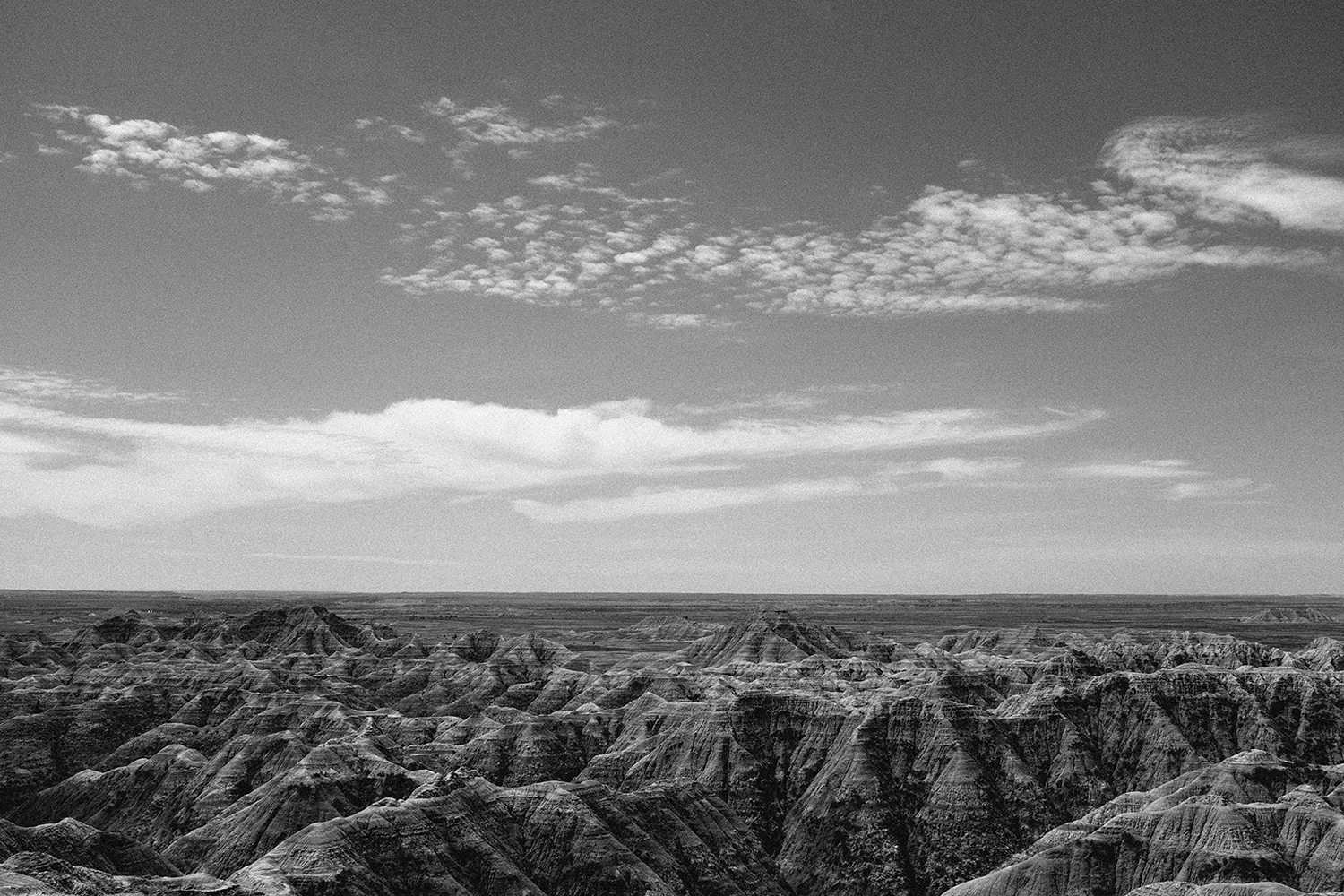 Arid land and a topography one associates more with the American Southwest