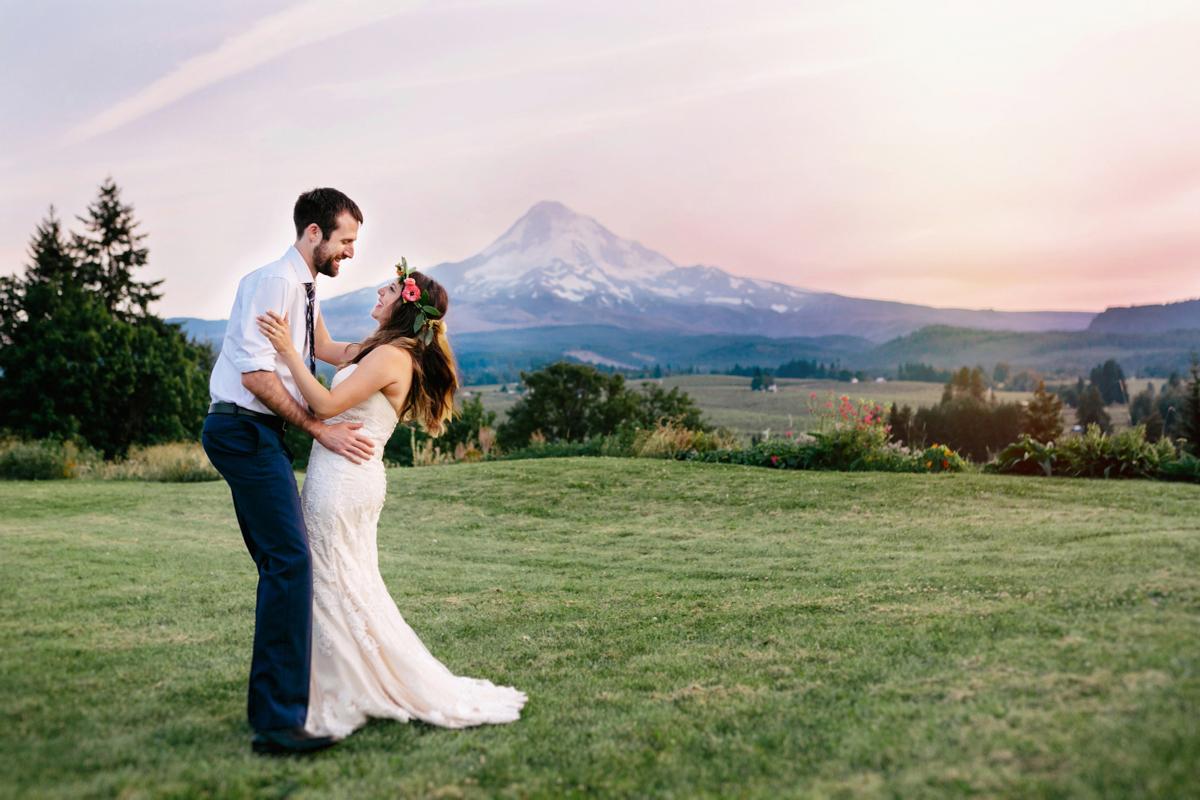 Mt Hood Organic Farms Wedding- Hood River Wedding- Oregon Wedding Photographer (102)