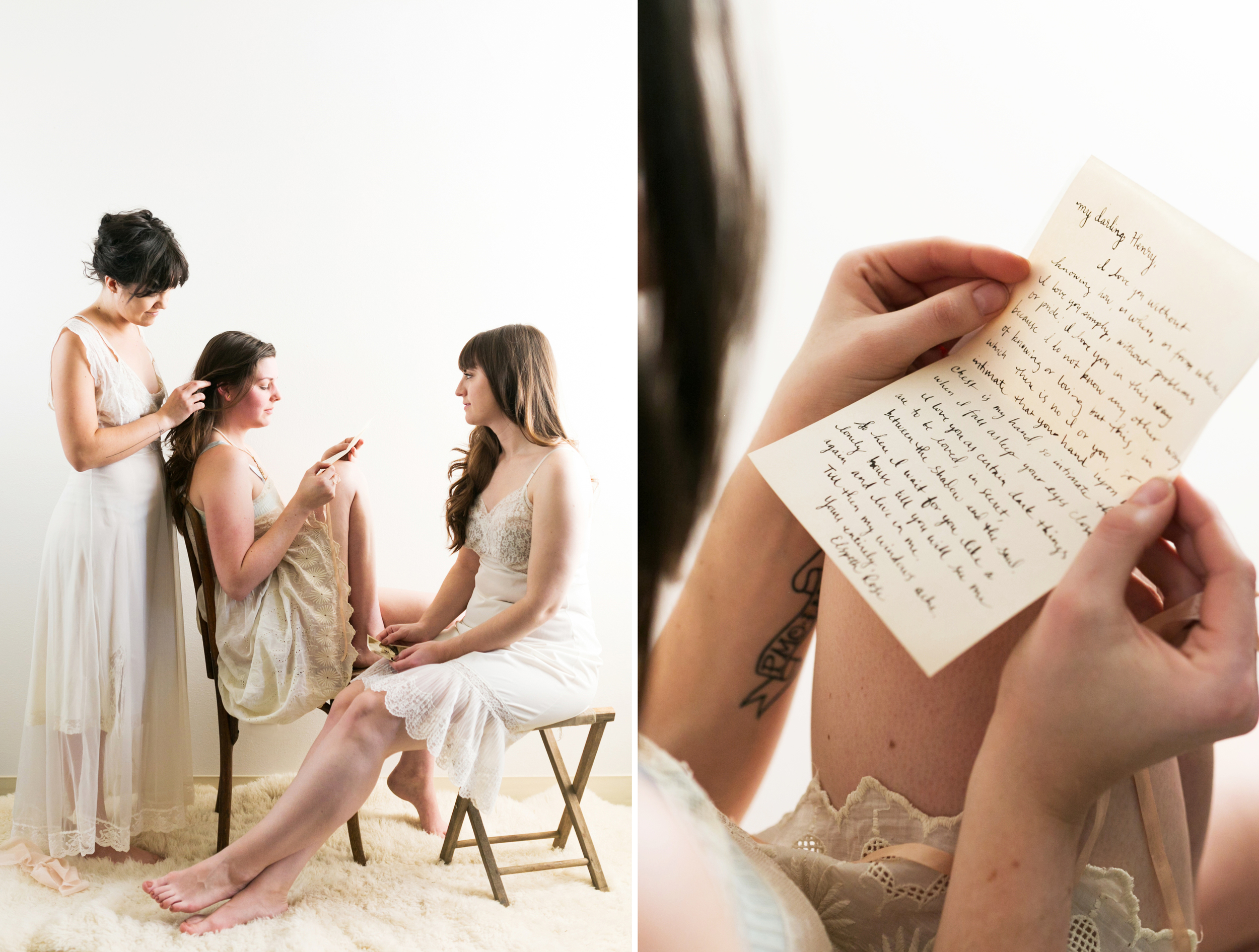 Valentines Bride and Her Bridesmaids  Styled Session  Hurtienne Photography  Portland Oregon Wedding Photographers (11)