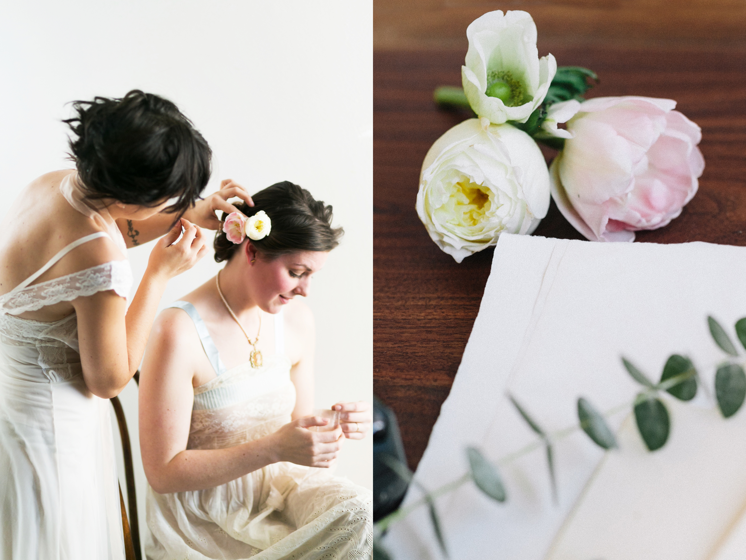 Valentines Bride and Her Bridesmaids  Styled Session  Hurtienne Photography  Portland Oregon Wedding Photographers (13)