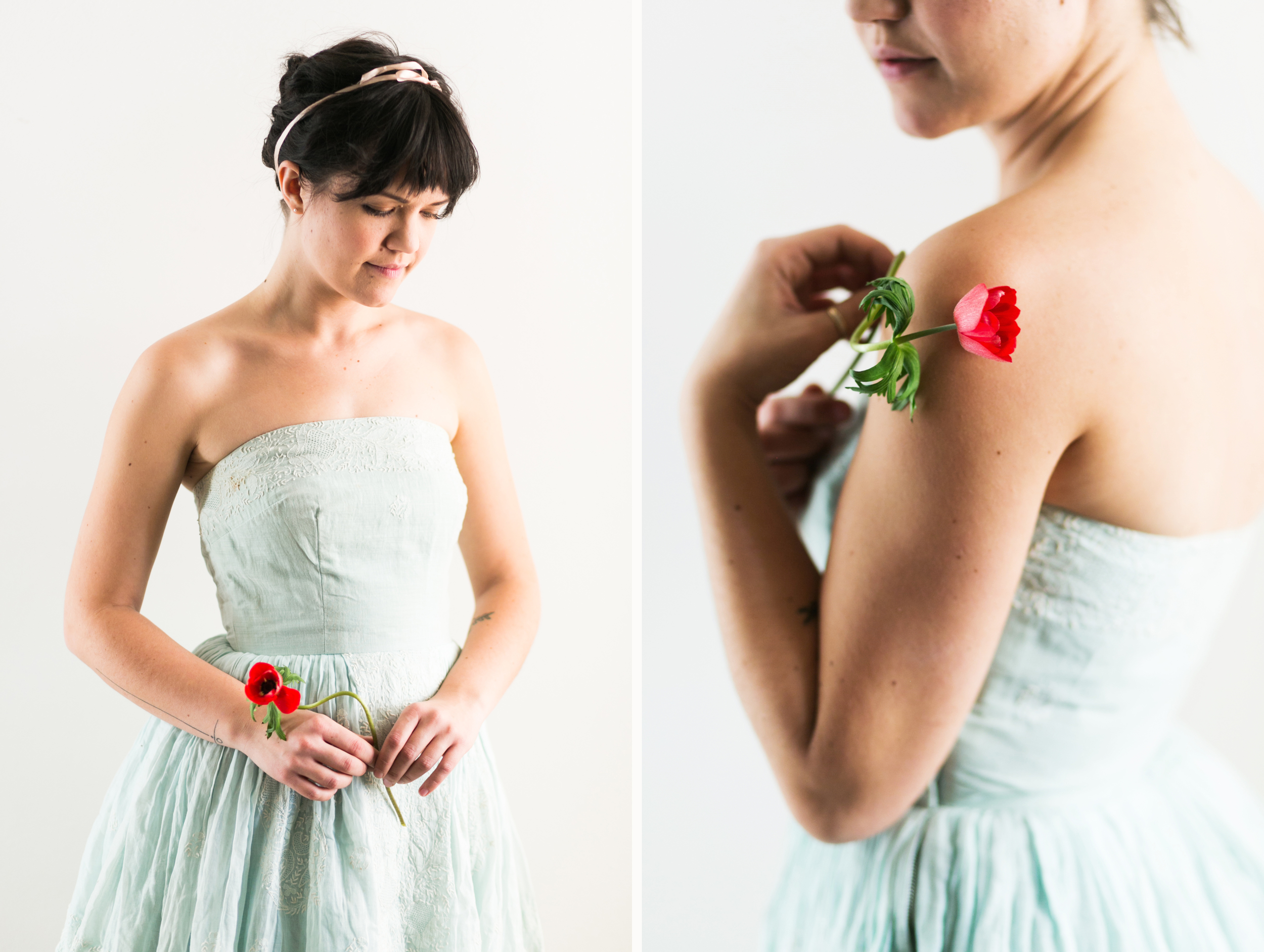 Valentines Bride and Her Bridesmaids  Styled Session  Hurtienne Photography  Portland Oregon Wedding Photographers (25)