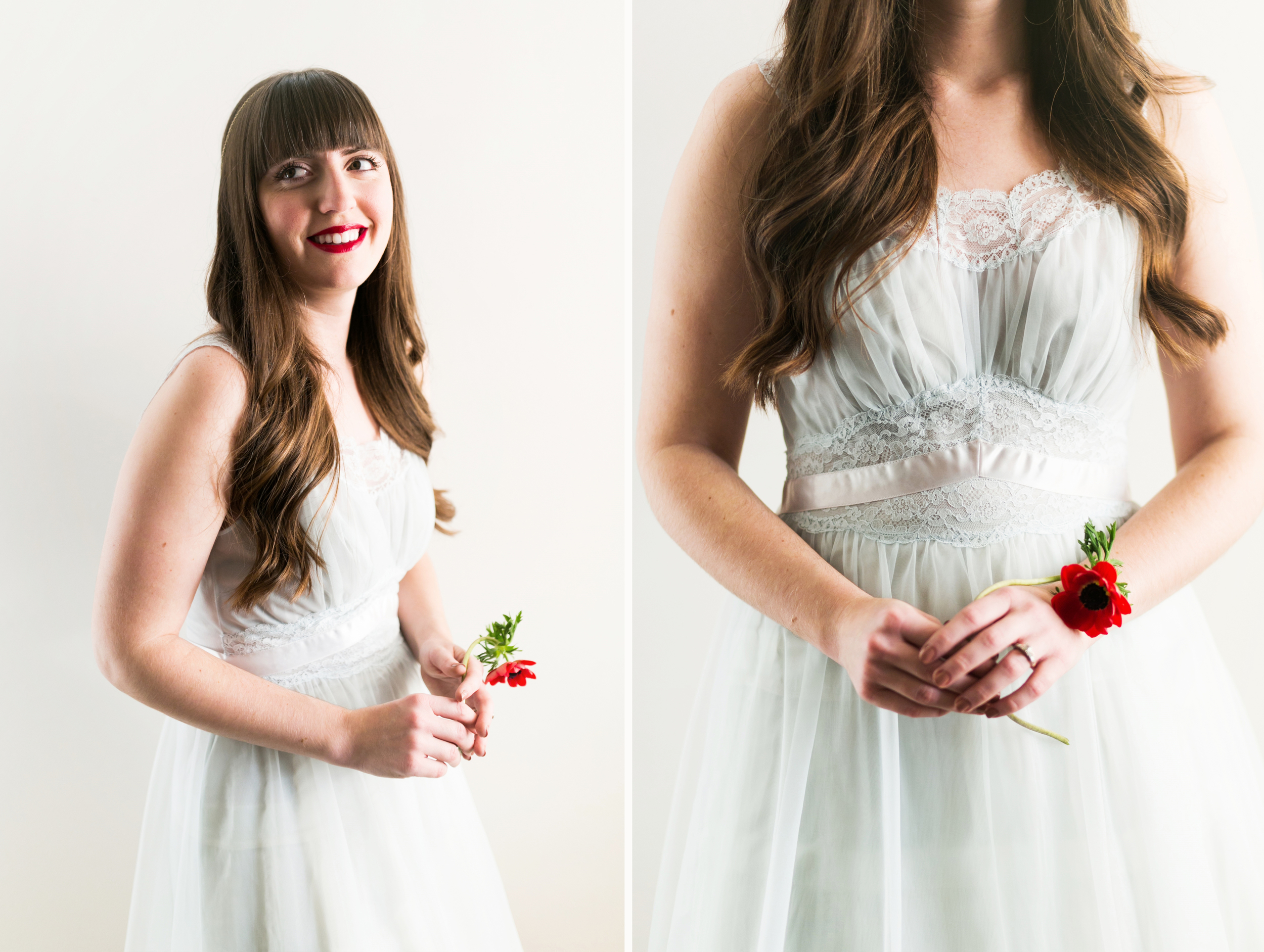 Valentines Bride and Her Bridesmaids  Styled Session  Hurtienne Photography  Portland Oregon Wedding Photographers (26)