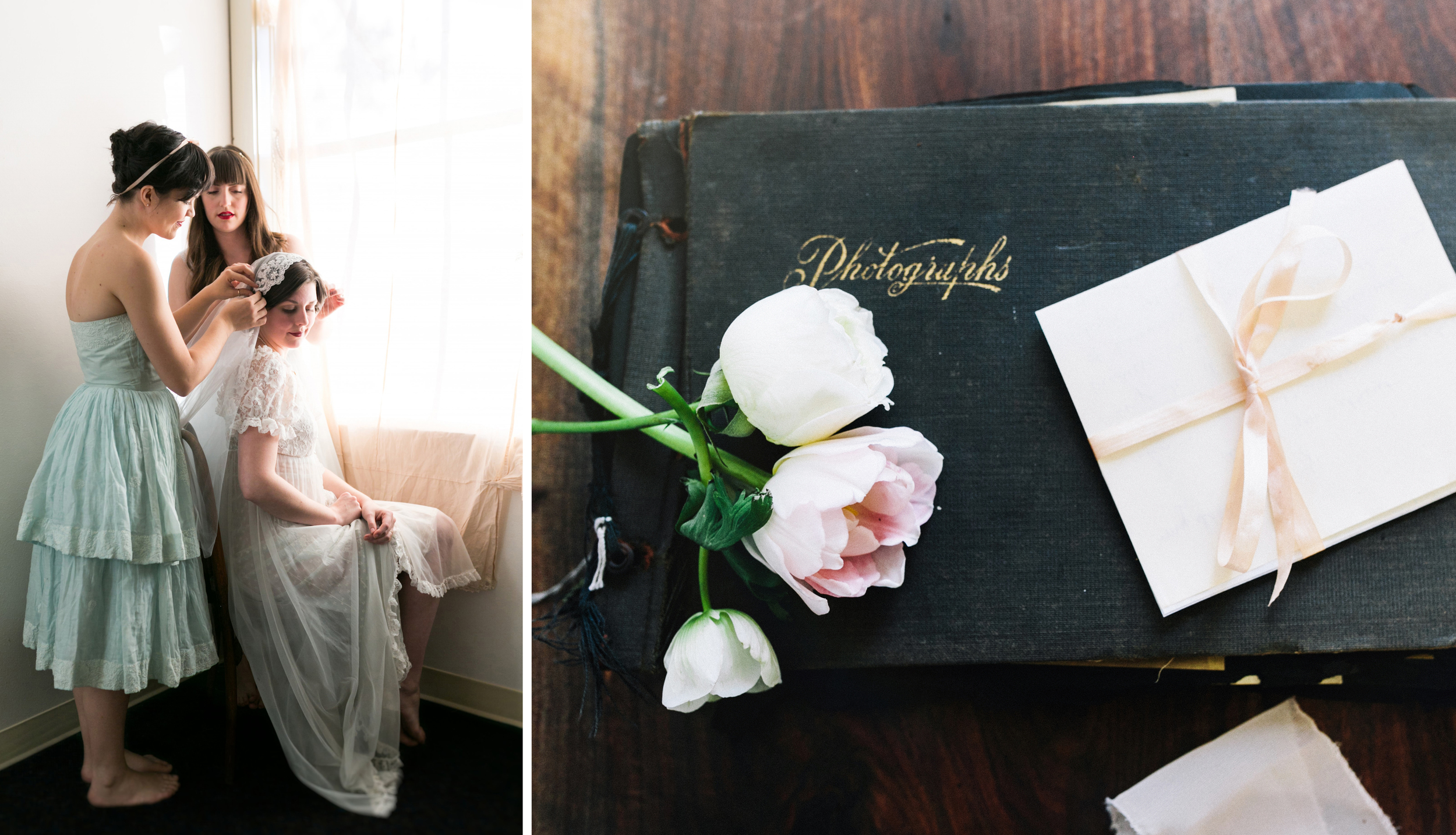 Valentines Bride and Her Bridesmaids  Styled Session  Hurtienne Photography  Portland Oregon Wedding Photographers (27)